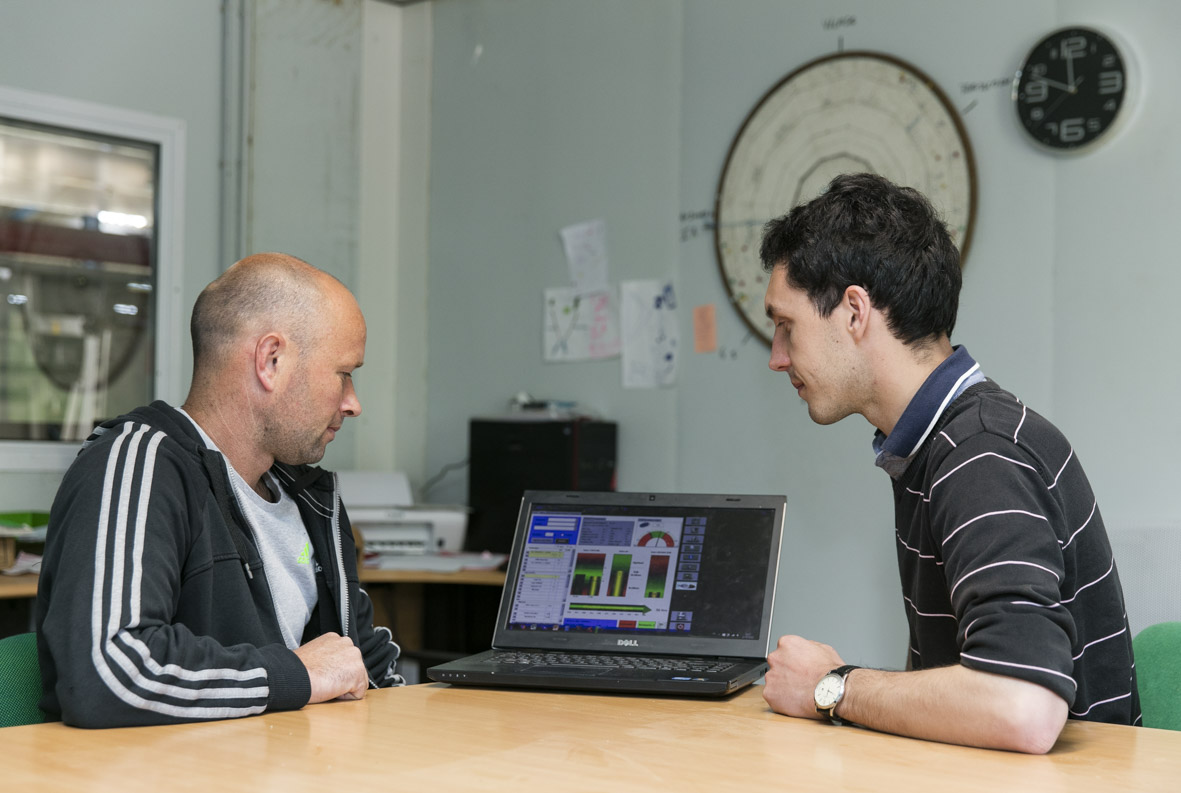 L'équipe de technico-commerciaux est spécialisée et formée pour réaliser différents types d'analyse
